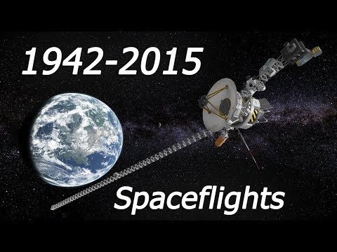70 Years of SPACEFLIGHTS HISTORY | 100% STOCK