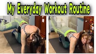 EVERYDAY WORKOUT ROUTINE   WEIGHT LOSS   WORKOUT AT HOME   MERLIE MANZANO