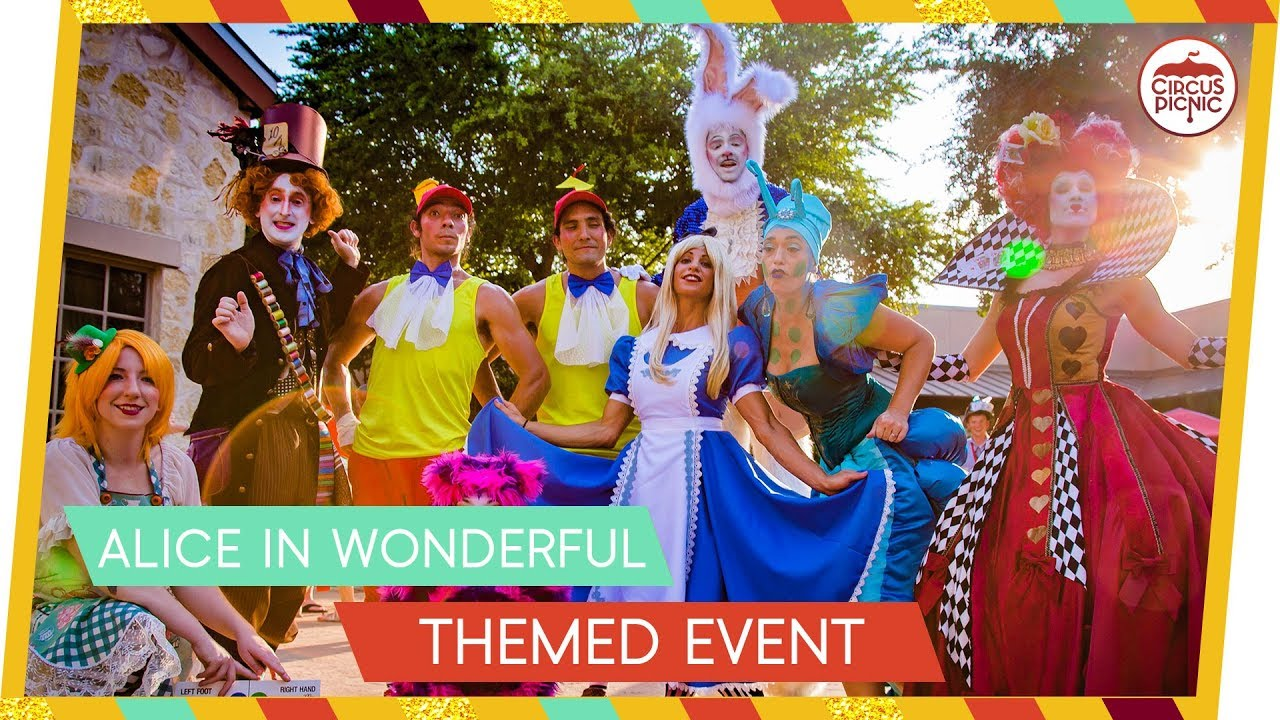 Alice In Wonderful Themed Event & Costumes