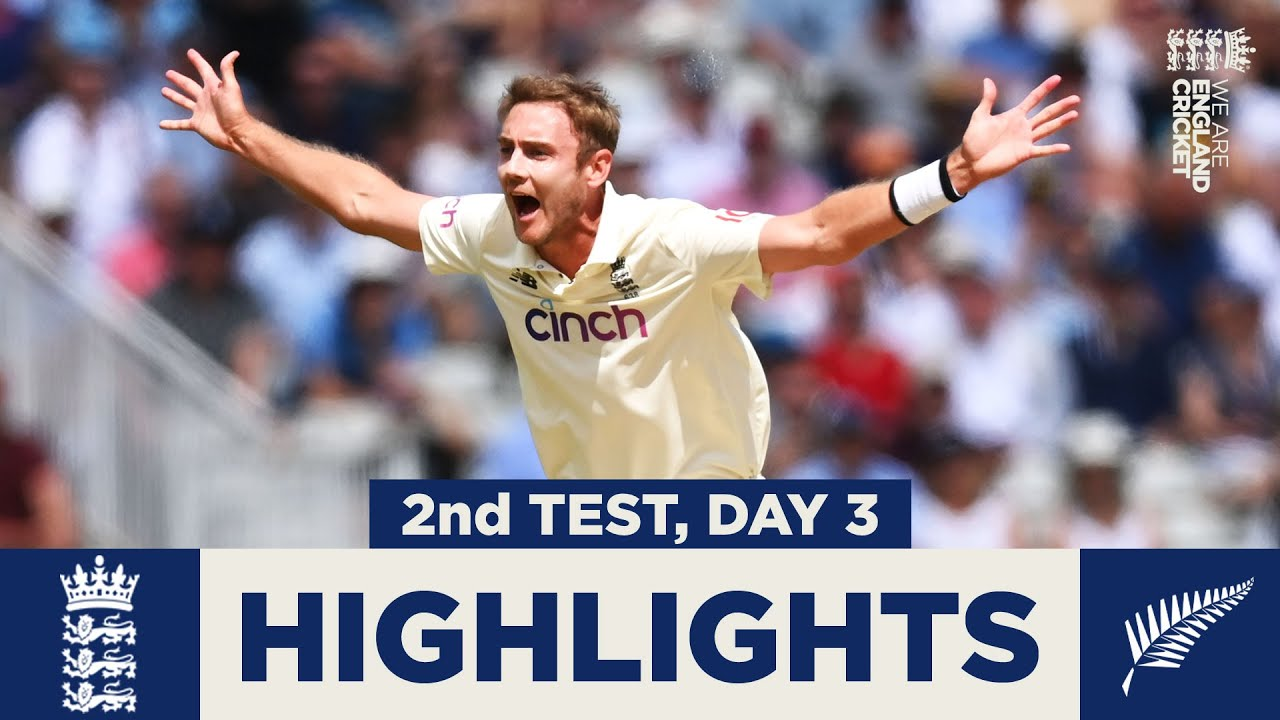 England v New Zealand Day 3 Highlights | Wickets Tumble on Eventful Day | 2nd LV= Insurance Test