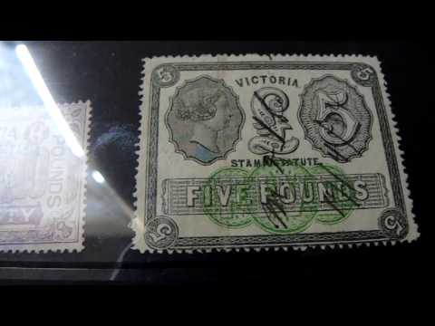 stamp collection : Australia duties