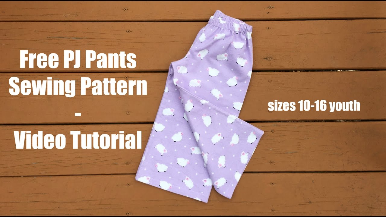 photograph about Printable Pajama Pants Pattern identify Free of charge Pajama Pant behavior
