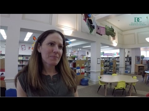 Delaware County Christian School - Tracy Binder at the Lower School