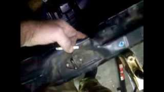 Ремонт Subaru Legacy (удар в зад) 1 часть