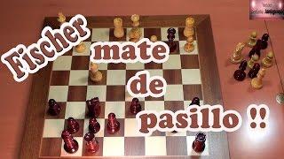 Bobby  Fischer, Defensa Siciliana, Variante Najdorf, mate de pasillo, Ajedrez