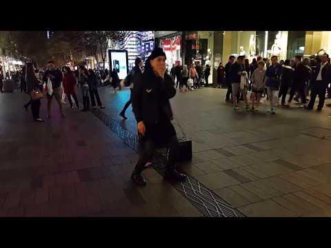 VOLTAK beatboxing in Sydney, Australia