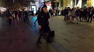 VOLTAK beatboxing in Sydney, Australia