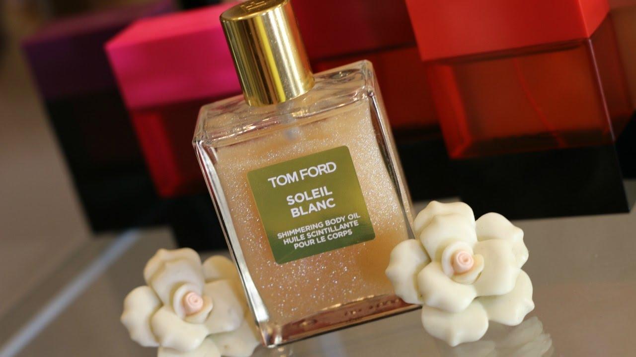 tom ford soleil blanc shimmering body oil review youtube. Black Bedroom Furniture Sets. Home Design Ideas