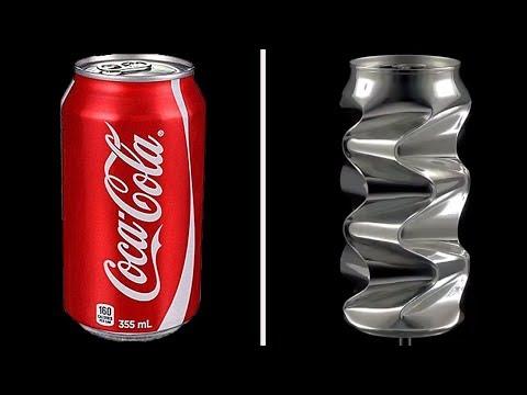 Artist Makes Beautiful Artwork From Aluminum Cans | Bored Panda Art