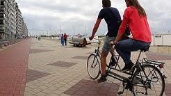 Langs de boulevard van Knokke-Heist