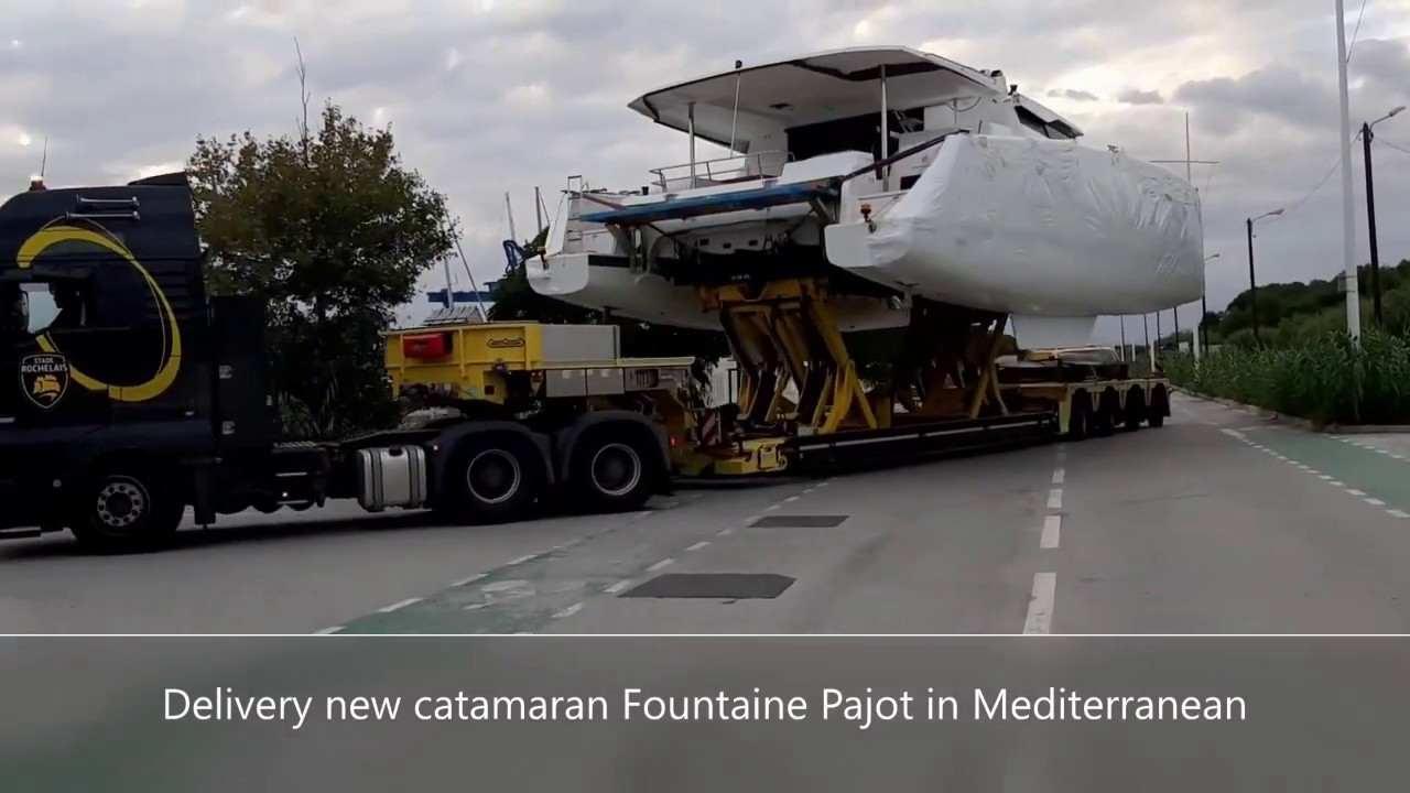 Delivery new Catamaran Fountaine Pajot