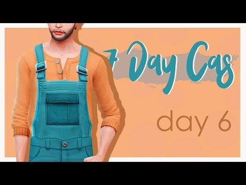 """The Sims 4 - """"7 DAY CAS"""" - DAY 6 / ПРОФЕССИЯ"""