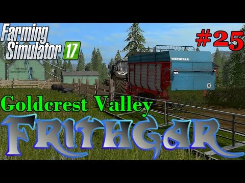 Let's Play Farming Simulator 2017, Goldcrest Valley #25: Food And Water For The Sheep!