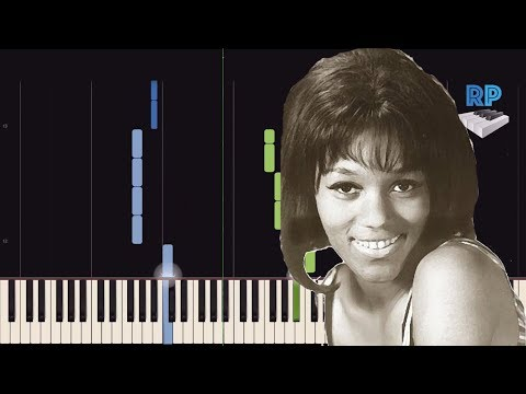 Gloria Jones - Tainted Love - Synthesia Piano Tutorial
