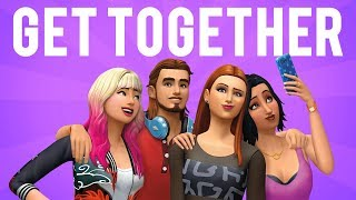 The Sims 4 Get Together ON CONSOLE GAMEPLAY!!
