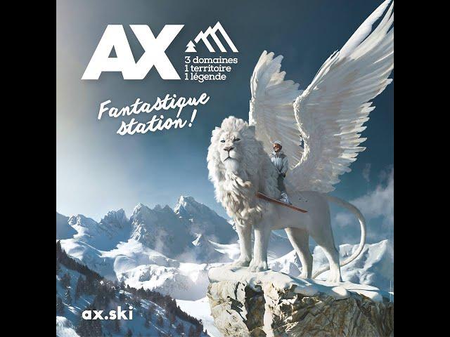 Ax 3 Domaines, Fantastique Station !