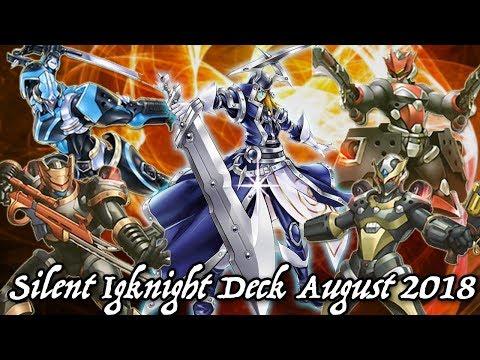 Yu-gi-oh! Silent Swordsman Igknight Deck August 2018 YgoPro Replays + Decklist