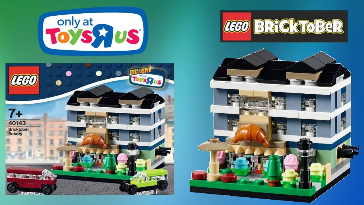 Lego Bakery 40143 Bricktober Toys r us exclusive speed ...