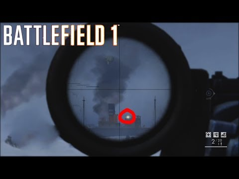 WORLD RECORD SNIPER SHOT! Battlefield 1 Top Plays of the Week #44
