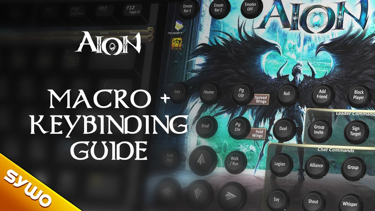 AION 5 0 - Macro and keybinding guide