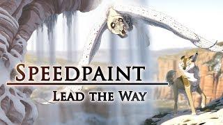 Speedpaint: Lead the Way