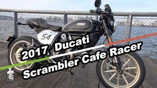 看你老師摩托車介紹 - 2017 Ducati Scrambler Café Racer Video