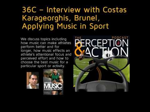 36C – Interview with Costas Karageorghis, Brunel, Applying Music in Sport