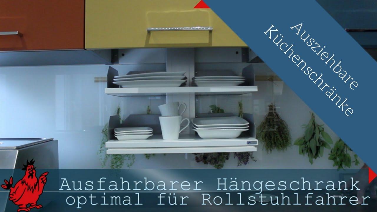 Ausziehbarer Küchenschrank: Stauraum für Ihre Küche - YouTube