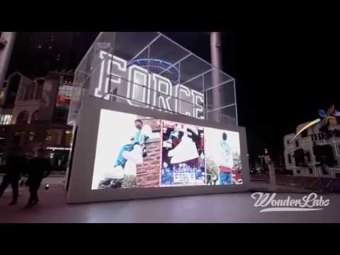 Nike Projection Mapping Beijing 2017 Showcase Video