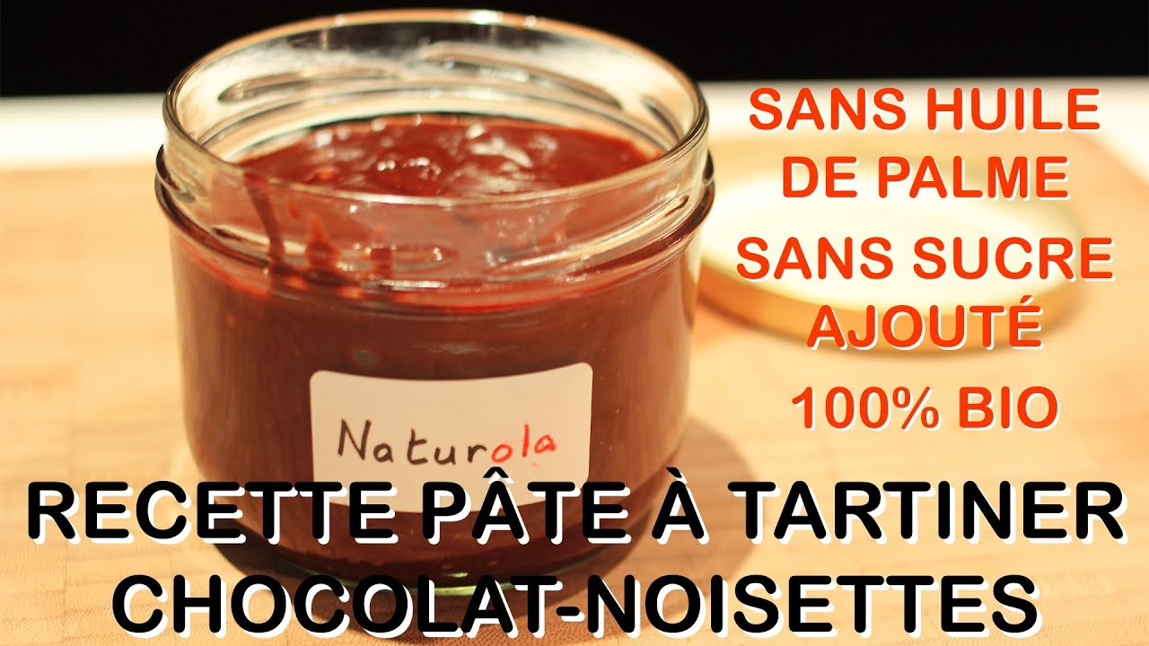 recette bio p te tartiner chocolat noisettes naturola vs nutella youtube. Black Bedroom Furniture Sets. Home Design Ideas