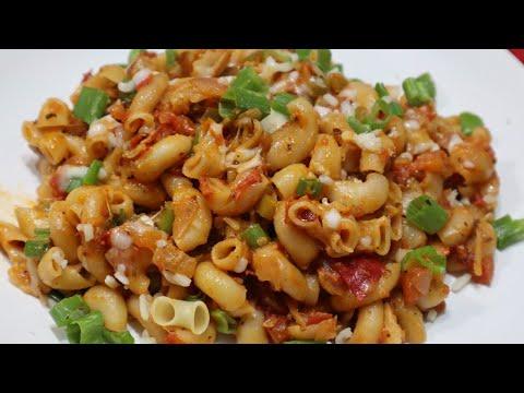 Indian Style Macaroni Pasta| New Recipes 2020 veg| Dinner Recipes Indian Vegetarian| Spicy Food| Veg