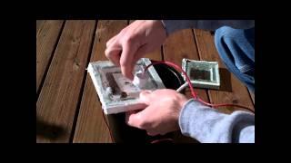 Underwater solar panel pt 2