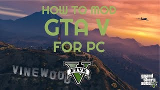 PC GTAV Mod Menus: How To Install Any SP Mod Menu Chicken's