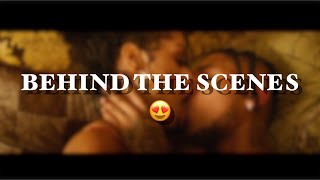 I HAD TO CONTROL MYSELF!!! 😍| MEET ME IN THE LOBBY **BEHIND THE SCENES**