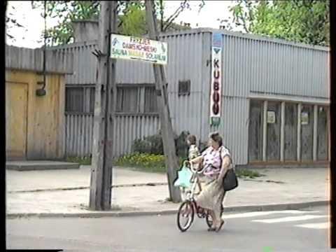 Gołdap   spacerkiem po mieście 1992r  0 04 godz