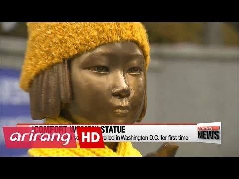 Comfort women statue to be unveiled in Washington