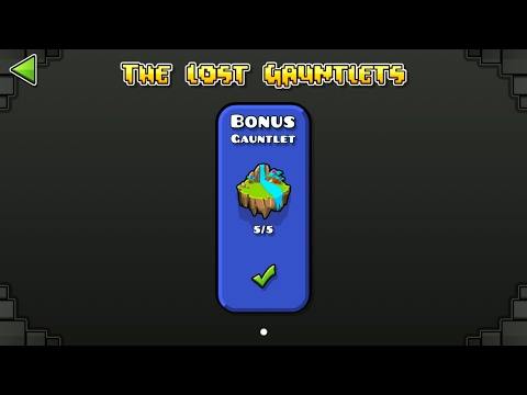 BONUS GAUNTLET (ALL CLEAR) | GEOMETRY DASH 2.1 : The Lost Gauntlets Series #6 / ♬ Partition