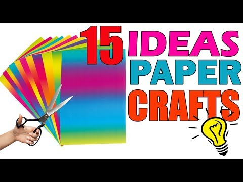 How To Make Paper Things Easy DIY Paper Craft Ideas