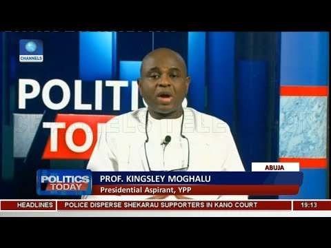 I Will Be Sworn In Nigeria's President By May 29, 2019 - Moghalu |Politics Today|