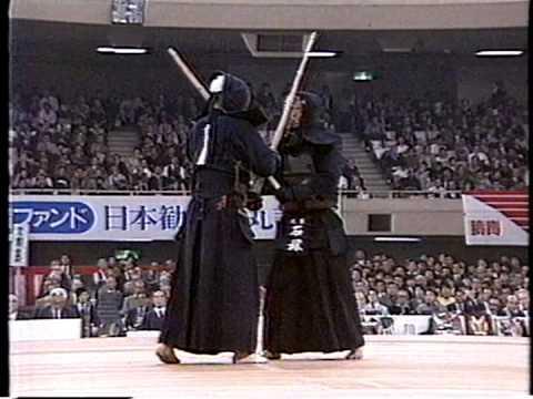 第34回(S61) 全日本剣道選手権大会 準々決勝① 石塚 - 前原