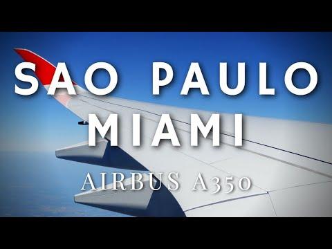 TAM AIRBUS A350 SÃO PAULO GUARULHOS - MIAMI