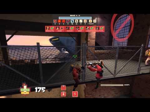 [TF2] MVM Empire Escalation - How to W+M1 Pyro