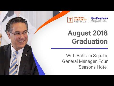 Leadership Speaker Series - Bahram Sepahi Regional VP and General Manager, Four Seasons Hotel Sydney