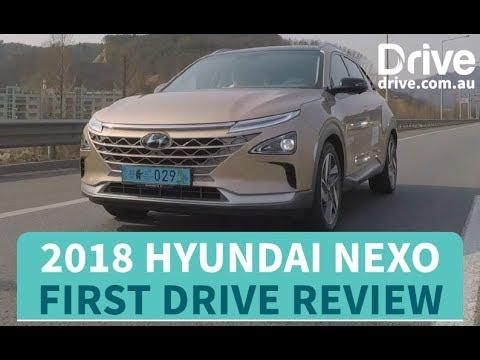 2018 Hyundai Nexo first drive review   Drive.com.au - Dauer: 3 Minuten, 51 Sekunden