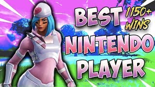 Fortnite Best Nintendo Switch Player 1150+ Wins (CUSTOM GAMES;))