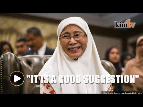 Award in honour of Adib a good suggestion, says Wan Azizah