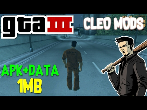 [HINDI] How To Download CLEO Mods,Cheats On GTA 3 On Android || Download  GTA 3 FREE APK+OBB