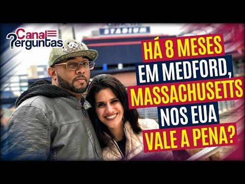 🔴[AO VIVO] Há 8 meses em Medford, Massachusetts. Ainda vale a pena morar nos EUA? ✔