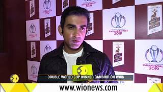 WION Sports: Gautam Gambhir reflects on World Cup win