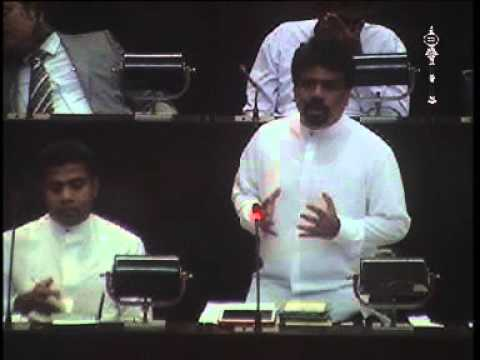 Anura Dissanayake's Budget Speech on 10.12.2015 (Ministry of Foreign Affairs)